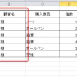 エクセルのユーザー定義を使って「様」「個」などの文字列を後ろにつける方法