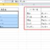 エクセルで名前や商品名などの文字列を空白で分割する方法