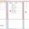 エクセルで同じファイルの異なるシートを同時に表示させる方法